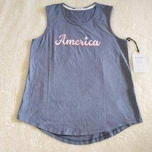 "Sweet🍭 Soul Clothing Co. ""America""🇺🇸🗽Tank Top"